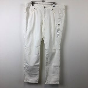 NWT American Eagle White Stretch Skinny Jeans